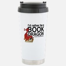 Book Dragon Stainless Steel Travel Mug