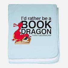 Book Dragon baby blanket