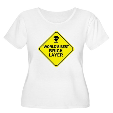 Bricklayer Women's Plus Size Scoop Neck T-Shirt