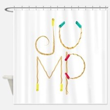 Jump Ropes Shower Curtain
