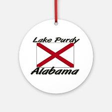 Lake Purdy Alabama Ornament (Round)