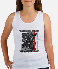 To Save and Protect Firefighter Women's Tank Top