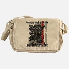 To Save and Protect Firefighter Messenger Bag