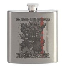 To Save and Protect Firefighter Flask