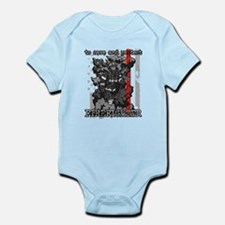 To Save and Protect Firefighter Infant Bodysuit