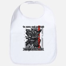 To Save and Protect Firefighter Bib