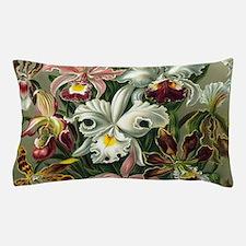 Vintage Orchid Floral Pillow Case