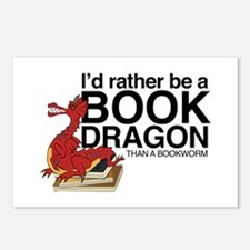 Book Dragon Postcards (Package of 8)