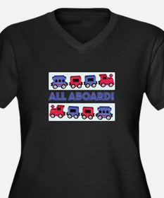 All Aboard Plus Size T-Shirt