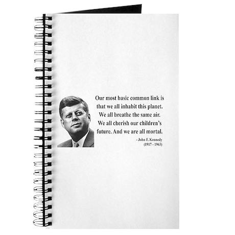 John F. Kennedy 1 Journal
