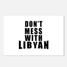 Don't Mess With Libyan Postcards (Package of 8)