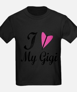 I Heart My Gigi T-Shirt