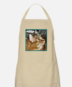Maine Coon Cat BBQ Apron