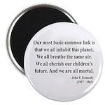 John F. Kennedy 1 Magnet