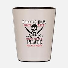 Unique Pirate Shot Glass