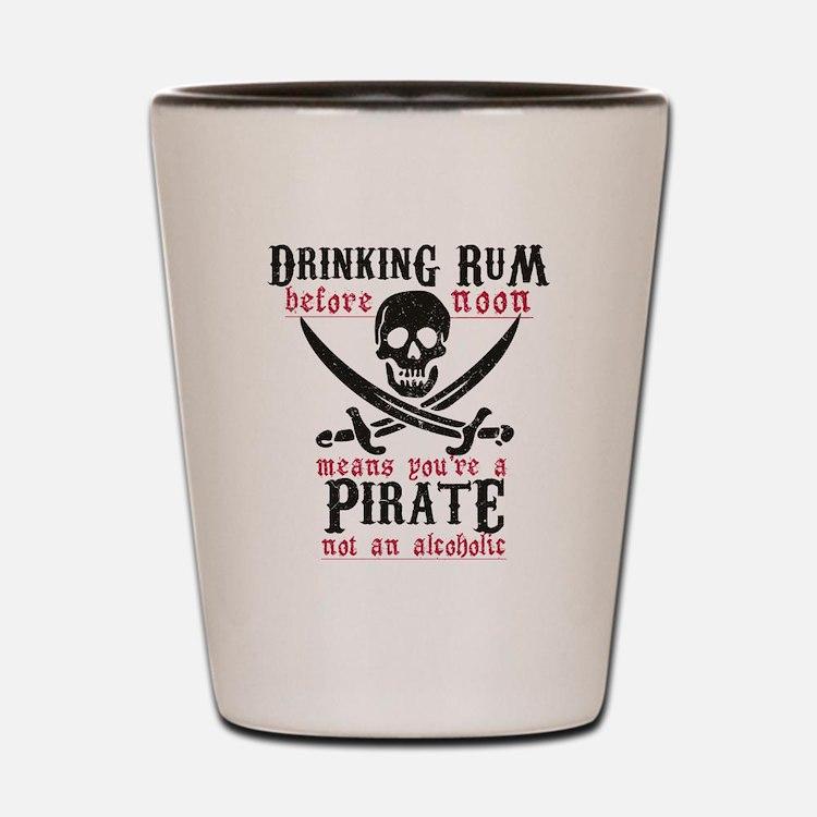 Cute Rum Shot Glass