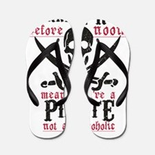 Cute Pirate Flip Flops