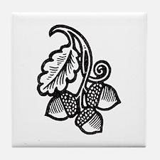 """""""Acorns & Tall Oaks"""" Tile Coaster"""