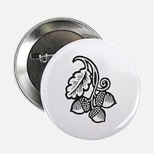 """""""Acorns & Tall Oaks"""" 2.25"""" Button (10 pack)"""