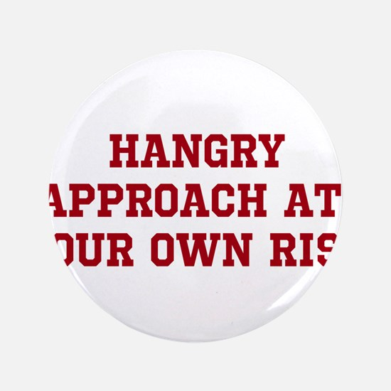 """HANGRY 3.5"""" Button (100 pack)"""