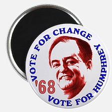 Humphrey in '68 Magnet