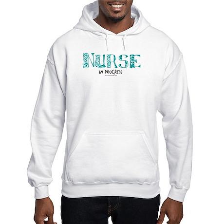 Nurse in Progress Hooded Sweatshirt