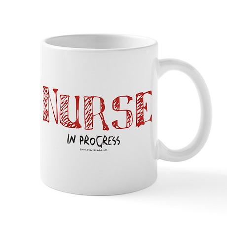 Nurse in Progress Mug