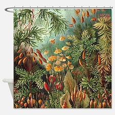 Vintage Plants Decorative Shower Curtain