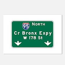 Cross Bronx Expressway, N Postcards (Package of 8)