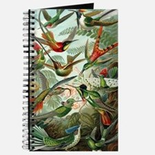 Vintage Hummingbirds Decorative Journal