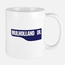 Mulholland Drive, Old-Style Street Sign Small Small Mug