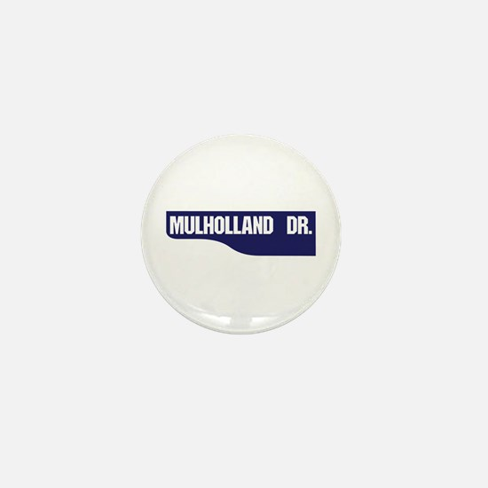 Mulholland Drive, Old-Style Street Sig Mini Button