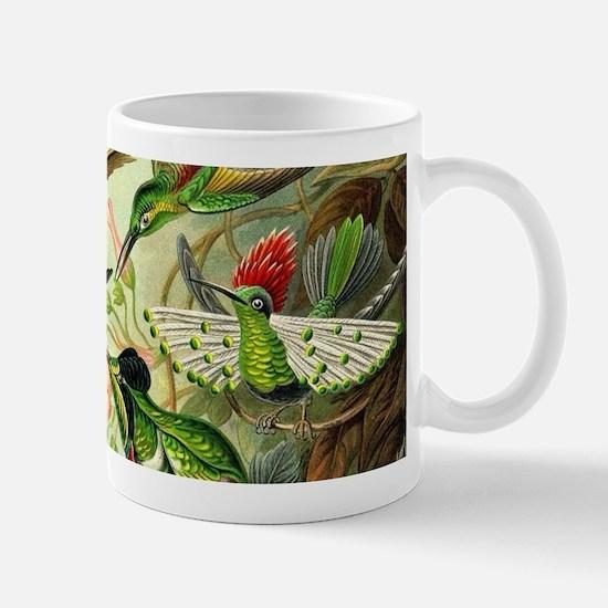 Vintage Hummingbirds Decorative Mugs
