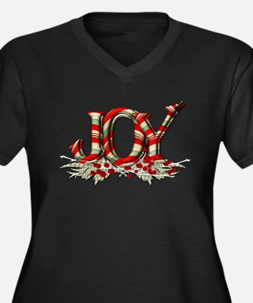 Christmas Joy Plus Size T-Shirt