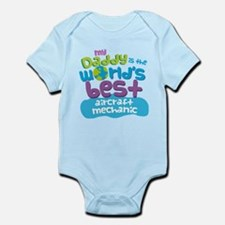 Aircraft Mechanic Gifts For Kids Infant Bodysuit