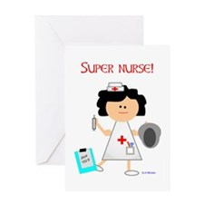 3-nursehugrevision Greeting Cards