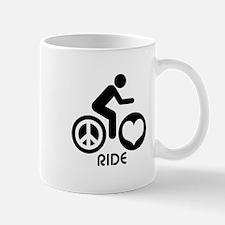 Peace Love Ride Mug