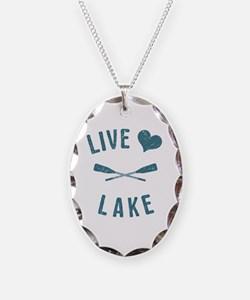 Cute Lake Necklace