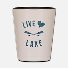 Cute Lake Shot Glass