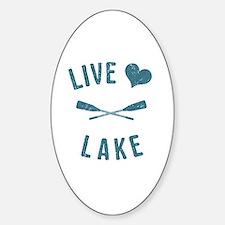 Cute Lake Decal