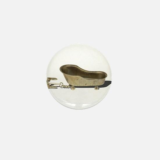 Vintage Bathtub Anchor Mini Button