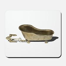 Vintage Bathtub Anchor Mousepad