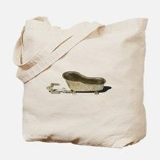 Vintage Bathtub Anchor Tote Bag