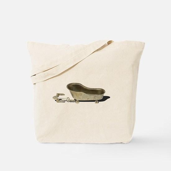 Vintage Bathtub Anchor Tote Bag