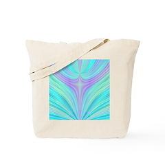 Multi-color Fractal Tote Bag