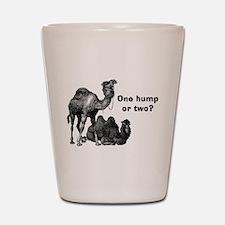 Funny Camels Shot Glass