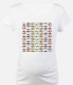 14 Trout and Salmon Pattern cp Shirt