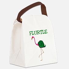 Flurtle Canvas Lunch Bag