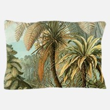 Vintage Tropical Palm Pillow Case