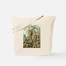 Vintage Tropical Palm Tote Bag